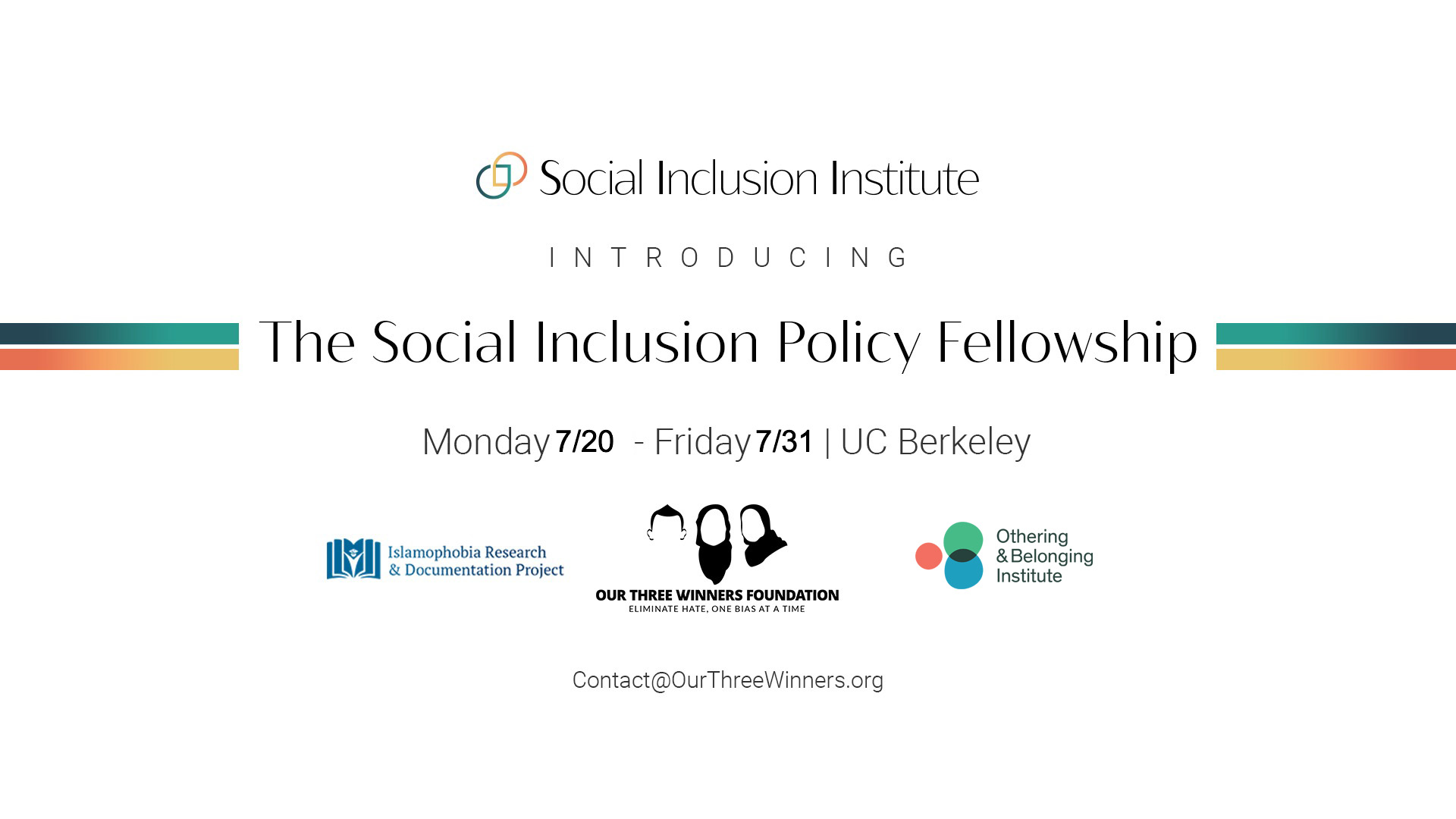 social inclusion policy fellowship
